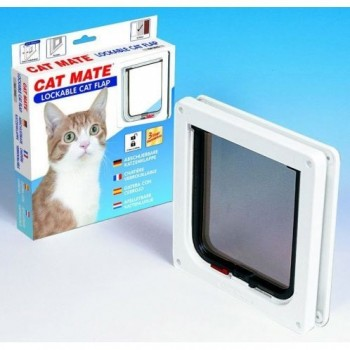 Cat Mate 304W Lockable Cat Flap - White