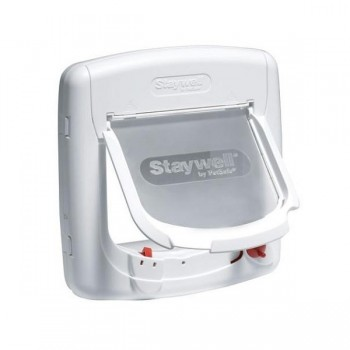 Staywell 400 Magnetic Cat Flap - White