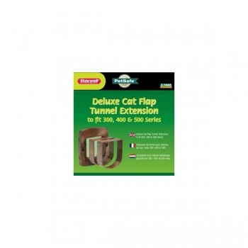 PetSafe Staywell 330 Cat Flap Tunnel Extension-Brown