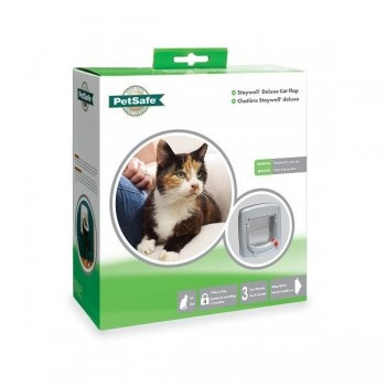 PetSafe Staywell 340 4 Way Locking Cat Flap - Gray