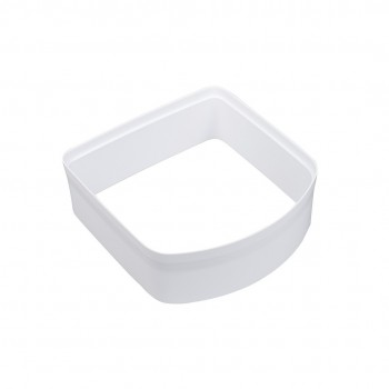 Microchip Cat Flap Tunnel Extension - White