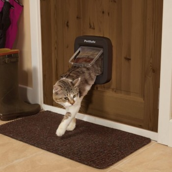 PetSafe Microchip Cat Flap - Brown
