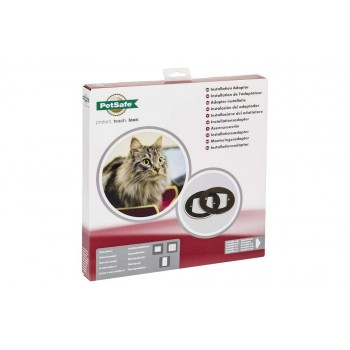 PetSafe Microchip Cat Flap Installation ADAPTER KIT - WHITE