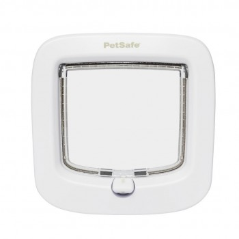 PetSafe Manual-Locking Cat Flap - White
