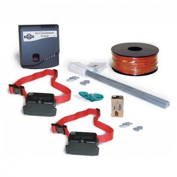 PetSafe 2 Dogs Stubborn Dog In-Ground Fence System Combo PRF-3004XW-201