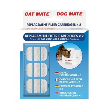 Cat Mate Replacement Filter Cartridges X 2 (339)