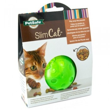 PetSafe® Multivet SlimCat Cat Toy Ball Feeder (Green)