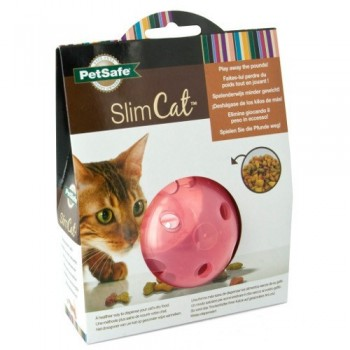 PetSafe® Multivet SlimCat Cat Toy Ball Feeder (Pink)