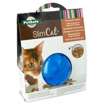 PetSafe® Multivet SlimCat Cat Toy Ball Feeder (Blue)