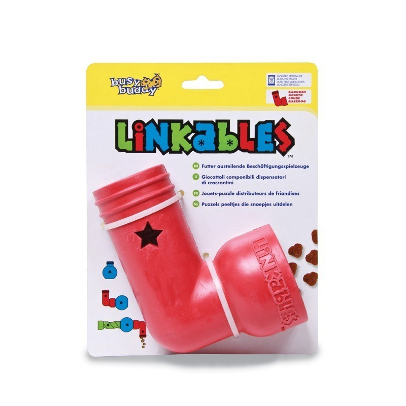 Busy Buddy Linkables™ ELBOW - Dog Puzzle Toy