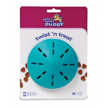 Premier®  Puppy Twist n' Treat™ (M) Refillable dog chew toy