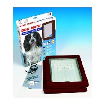 Dog Mate 215B Medium Dog Door/ Brown