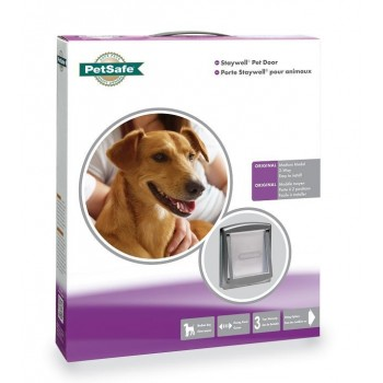 Staywell 757 Medium Pet Door - Metallic Silver